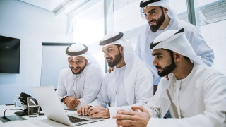 働くアラブ人